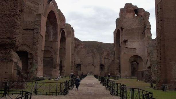 terme di caracalla największe termy w Rzymie