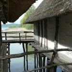 Prehistoryczna osada domów na palach w Unteruhldingen nad Jeziorem Bodeńskim