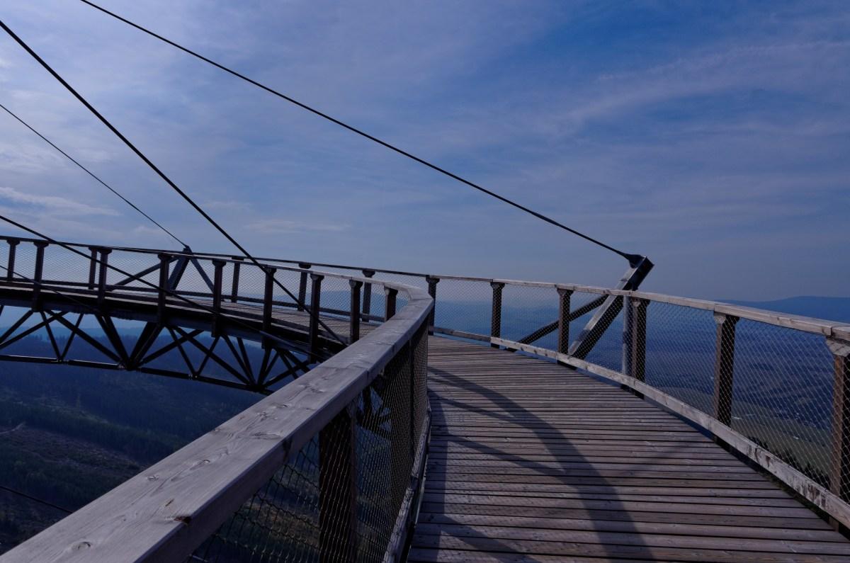 Skywalk - wspaniały spacer w chmurach
