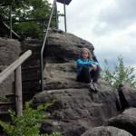 Hinterhermsdorf – ścieżka dla dzieci i spływ łodziami