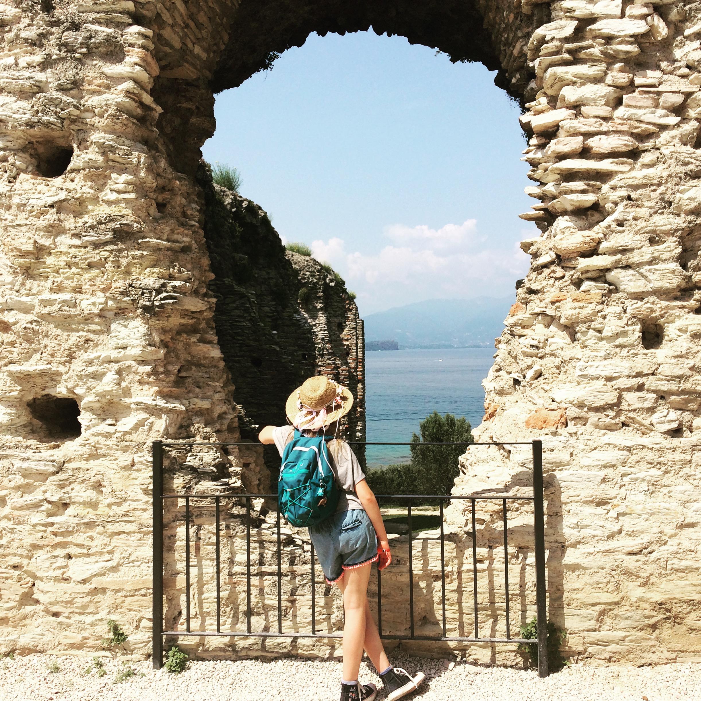 Sirmione ruiny rzymskiej willi