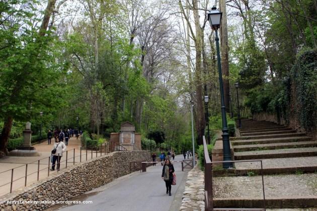 W drodze do Alhambry