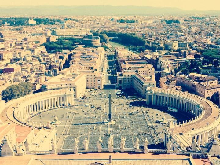 Rzym, miasto samochodów i sticków