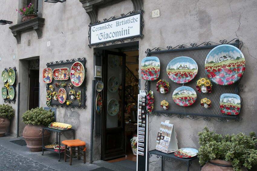 Produkty regionalne: Włochy środkowe