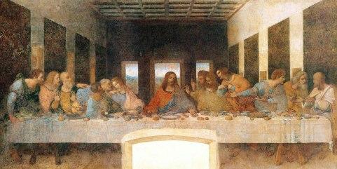 """""""Ostatnia Wieczerza"""" Leonarda da Vinci. Co jedzą Chrystus i apostołowie?"""