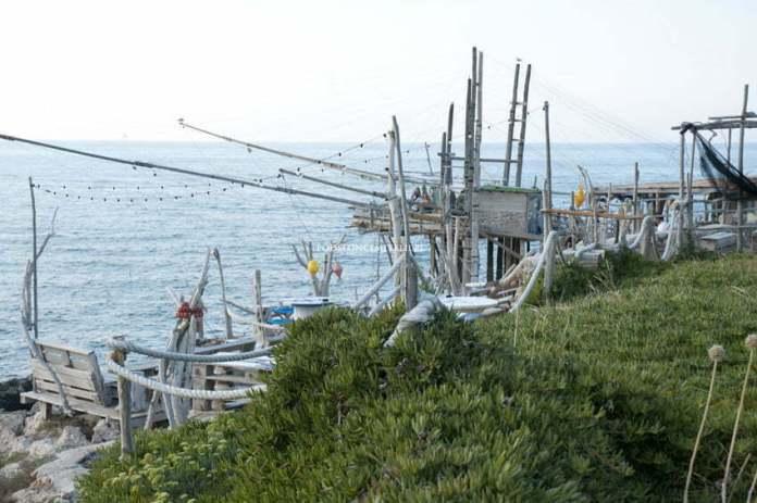 Trabucchi - niesamowite urządzenia, służące do połowu ryb