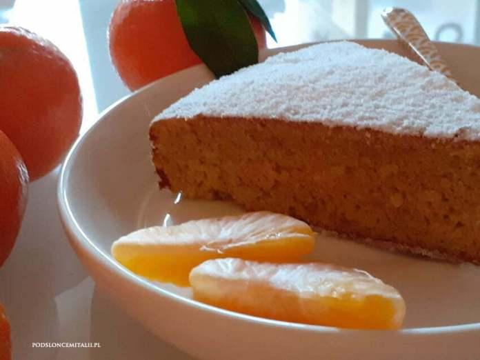 Ciasto z mandarynek albo klementynek