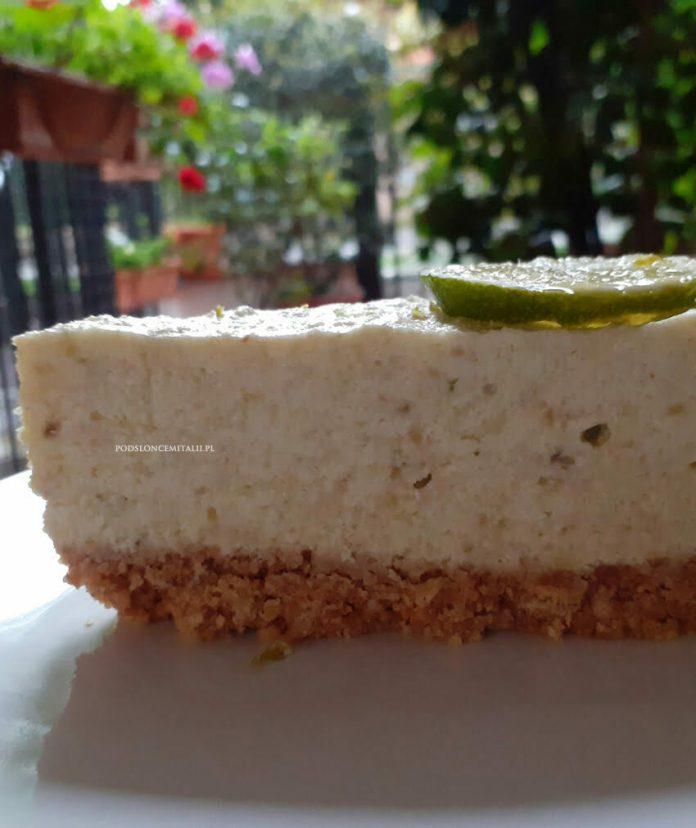 Cheesecake z awokado i limonką