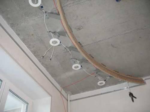 Как установить и расположить встраиваемые точечные светильники