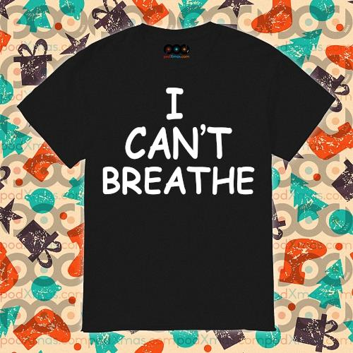 Lebron James I can't Breathe t-shirt