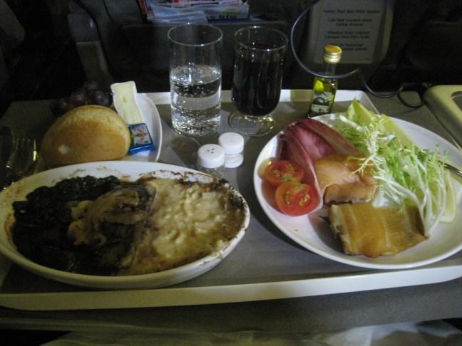 Open Skies to Paris dinner