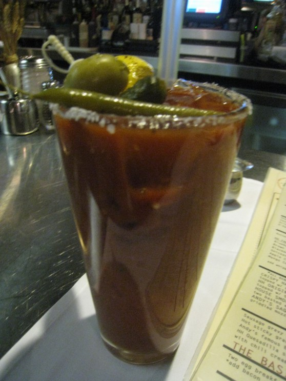 Bloody Mary at Hash House, Las Vegas