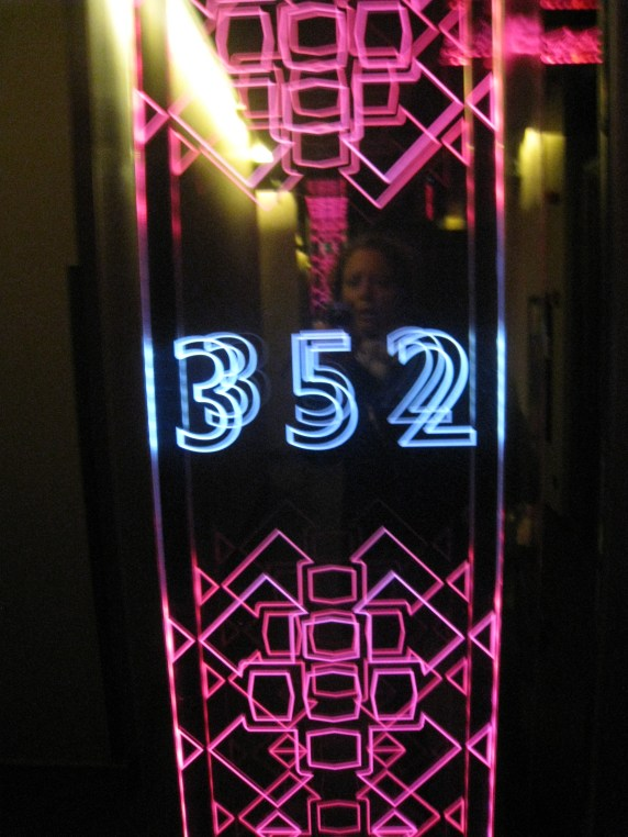 Room 352 at the W Hotel Istanbul