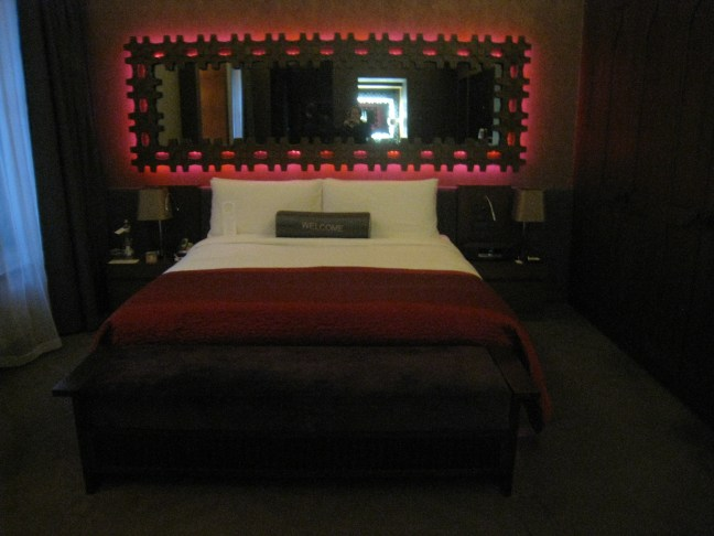 Our room at the W Hotel Istanbul