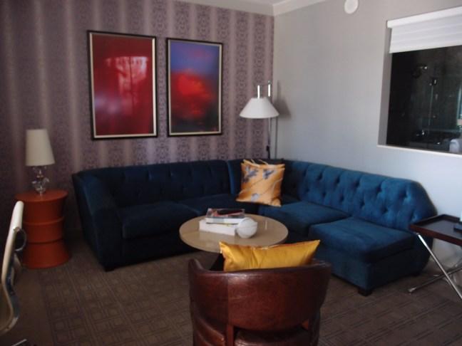 Sitting area in the Terrace Suite, Cosmopolitan, Las Vegas