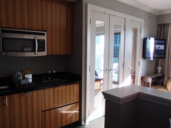 Mini kitchen in the Cosmopolitan, Las Vegas