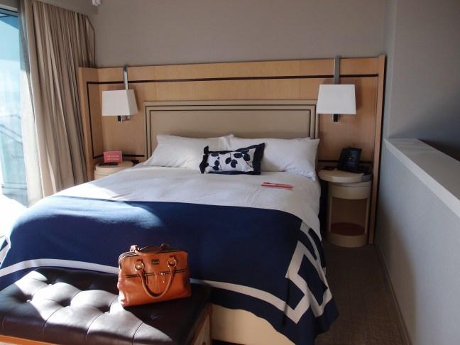 Bed in the Terrace Suite, Cosmopolitan, Las Vegas