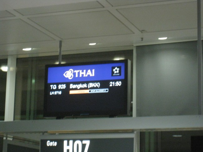 This way to Thai Airlines first class