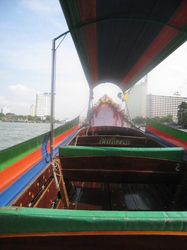 Boat ride in Bangkok