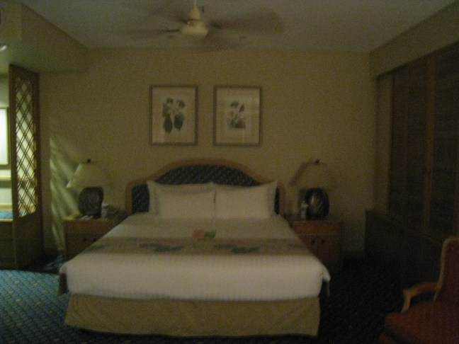 Room at the Sheraton Mirage, Australia