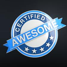 awesome certified