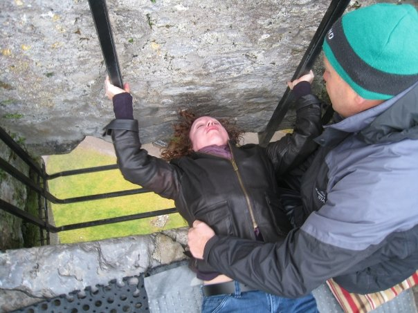 Kissing the Blarney