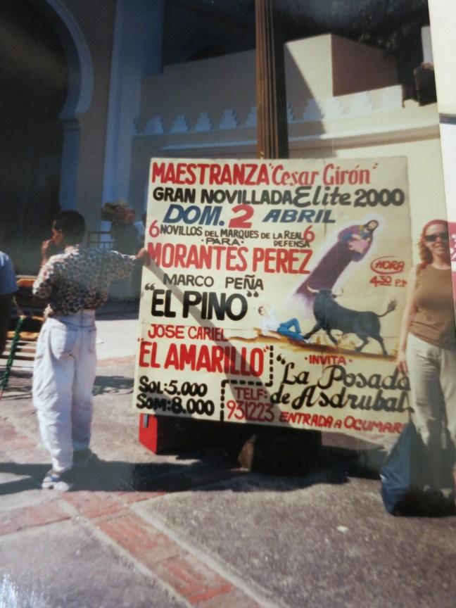 Bullfighting in Venezuela