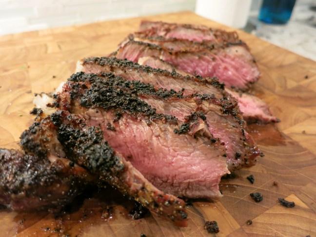 Steak finished