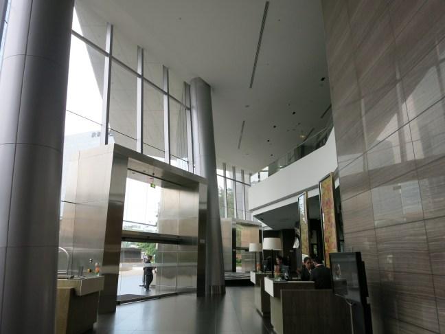 Lobby at the Westin Lima Peru