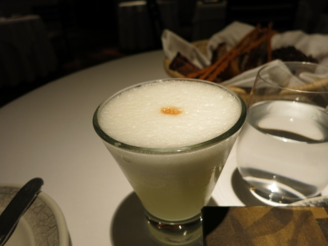Pisco sour in Peru