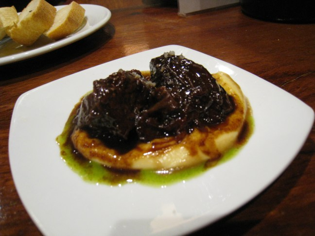 braised beef at La Cuchara San Telmo, San Sebastian, Spain