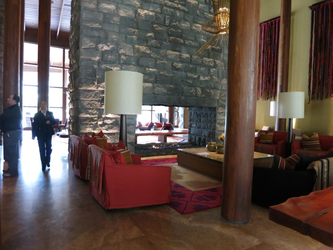 Lobby at Tambo del Inka Sacred Valley Peru