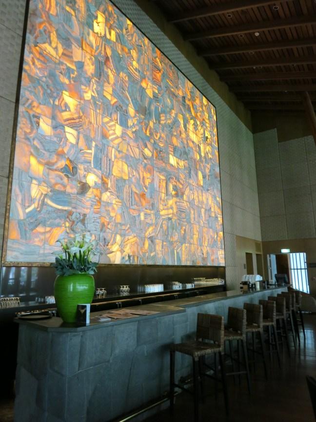 Bar at Tambo del Inka Sacred Valley Peru