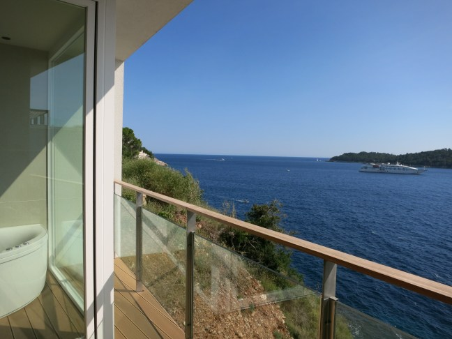 Room view at Villa Dubrovnik, Croatia