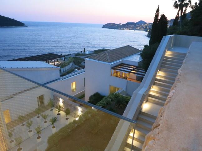 Stairs at Villa Dubrovnik, Croatia