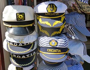 Croatian sailing hats