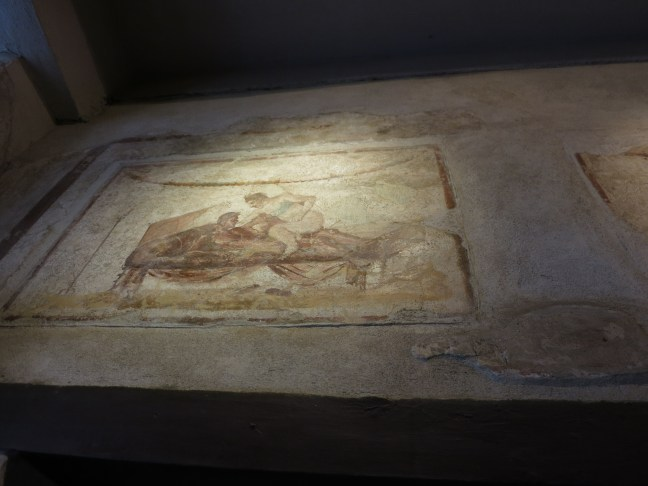 Pompeii bordello art.