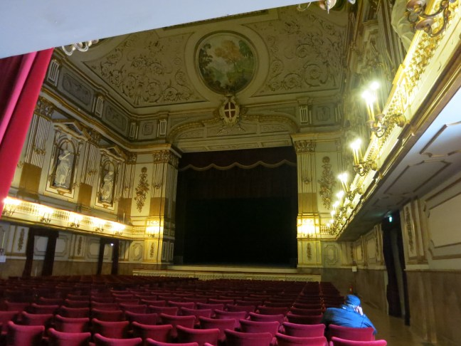 Theater at the Royal Palace, Naples