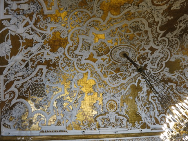 Ceiling at the Royal Palace, Naples