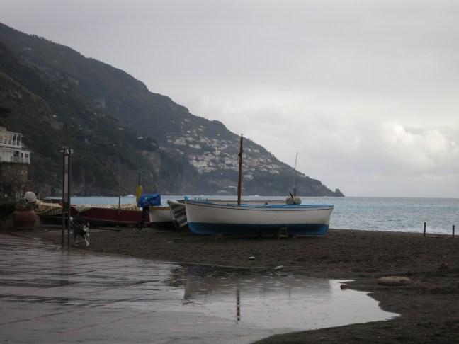 Positano boats