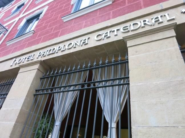 Pamplona - hotel