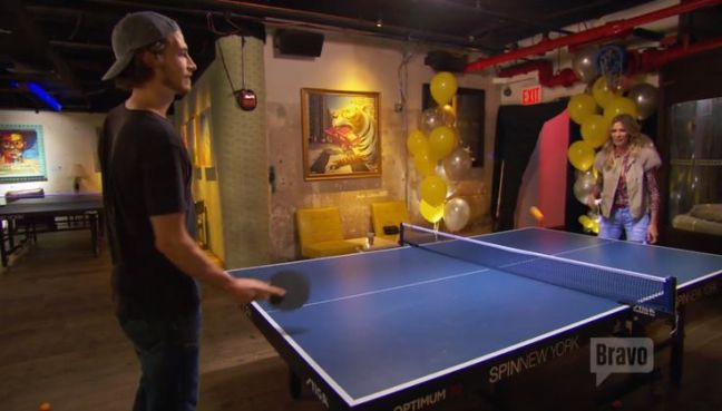 real housewives ping pong