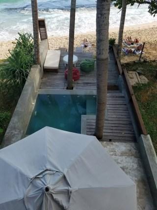 Skinny Beach House pool and beach