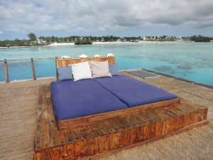 Pemba underwater room - roof deck