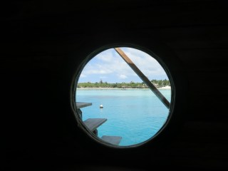 Portal view back to Manta Resort