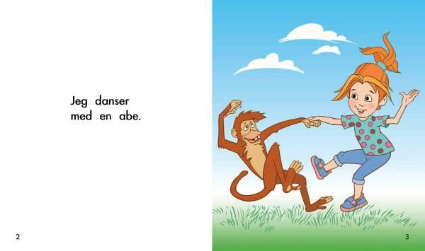 Solstrålebøger Jeg danser med en abe opslag