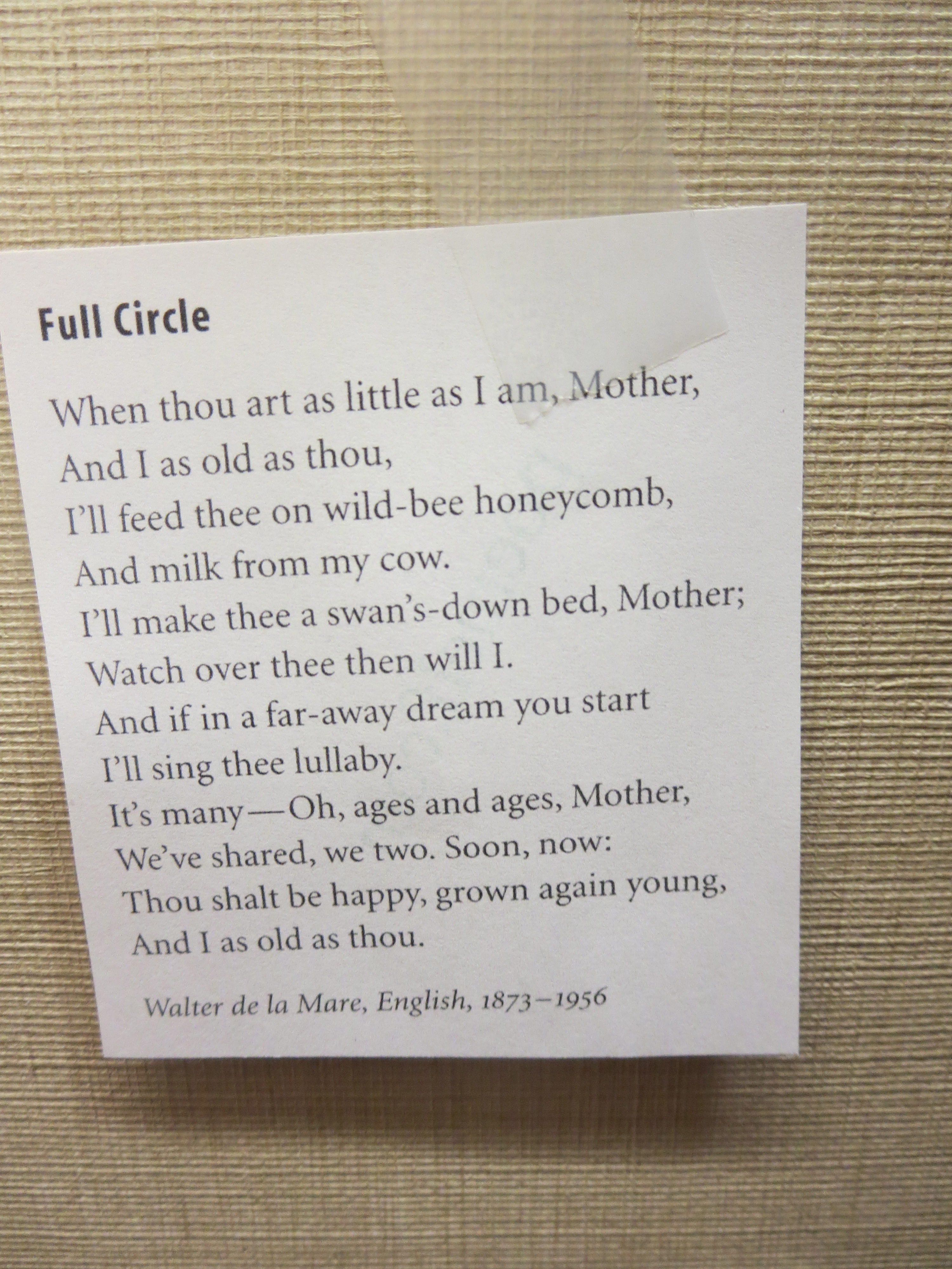 Poem Elf Go Forth Little Poem