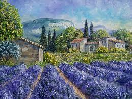 Lavande Poèmes En Provence