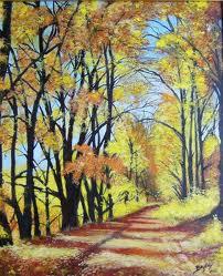Eric Bruni chemin d'automne