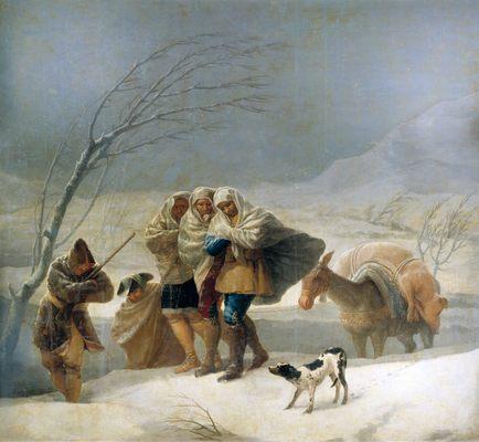francisco-goya-tempete-de-neige